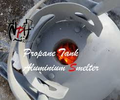 propane tank aluminium smelter no weld 58 steps with pictures