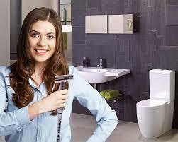Handheld Bidet Sprayer Set For Toilets Premium Stainless Steel Bathroom Handheld Bidet Toilet Sprayer