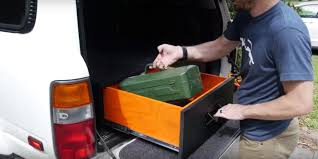 How To Build A Cabinet Box by How To Build A Diy Tool Cabinet For Your Suv Truck Box Tool