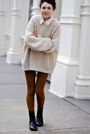 20 style tips on how to wear oversized sweaters this fall gurl