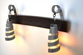 industrial bathroom vanity lighting wine barrel ring lighting