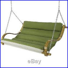 porch swing patio hammock 3 person outdoor hanging bench seat