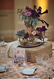 Vintage Vases Wedding Let U0027s Fly Away Together Travel Theme Wedding Ideas Travel