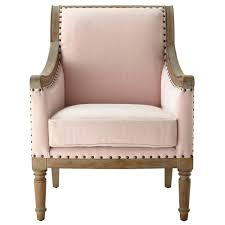 Accent Chairs Home Decorators Collection Blush Rolled Back Upholstered