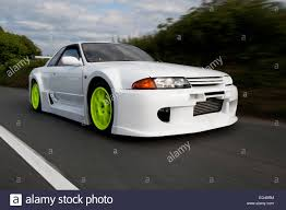 r32 skyline heavily modified nissan r32 skyline with a wide body kit fitted