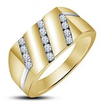 gold ring for men buy vorra fashion 14k gold plated 925 sterling silver ring for men