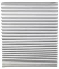 redi shade 3684227 filtering fabric pleated window shade size 72