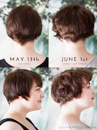 nine months later its a bob from pixie cut to bob haircut growing out a pixie cut a plan lost in a spotless mind