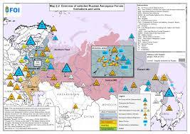 Map Russia Maps Totalförsvarets Forskningsinstitut