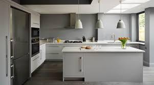 cuisine blanche mur gris couleur de mur cuisine quelle pour une gris perle armoires blanche
