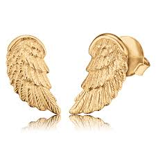 ear studs images ear studs wing gold plated ere wing stg engelsrufer de