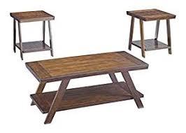 livingroom table sets amazon com furniture signature design bradley occasional
