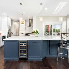 houzz blue kitchen cabinets 75 beautiful kitchen with blue countertops pictures ideas