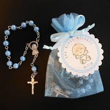 cheap baptism favors bolsita con rosario recuerdo de bautizo baby g baptism