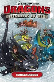 dragons defenders berk volume 2 snowmageddon train