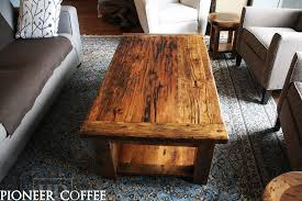 Barn Board Coffee Table Reclaimed Wood Tables Toronto Reclaimed Wood Dining Room Tables