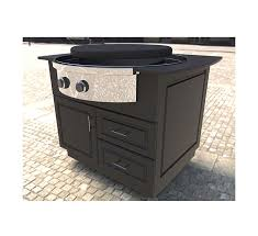 outdoor kitchen carts and islands evo oasis island cart for evo affinity 30g cooktop affordable
