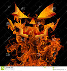 free halloween flyer background halloween jack o lantern face fire background greeting design