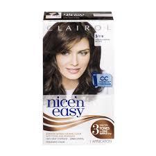 clairol natural instincts semi permanent hair color 7 5 rich dark