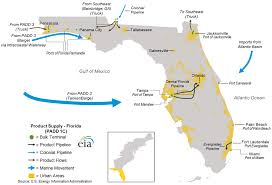 Florida Everglades Map by Hurricanes Harvey And Irma Lead To Higher Gasoline Prices In