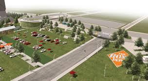 Home Depot Corp Offices Atlanta Ga Meet The Atlanta Falcons U0027 New Greenspace At Mercedes Benz Stadium