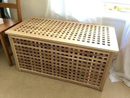 wooden bench toy box soapp culture