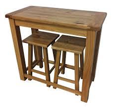 Oak Breakfast Bar Table Cambridge Oak Breakfast Bar Oak Furniture Uk