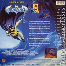 batman u0026 mr freeze subzero laserdisc rare laserdiscs other
