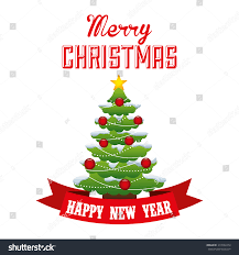 happy merry design vector illustration stock vector