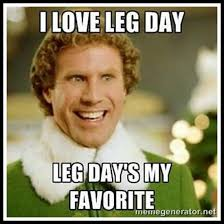 Friday Workout Meme - 30 minute build and burn lower body workout a seriously healthy