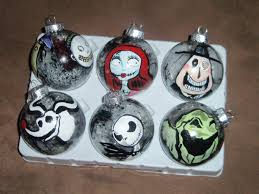 nightmare before christmas couple ornament this is halloween