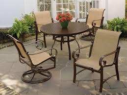 western aluminum patio furniture