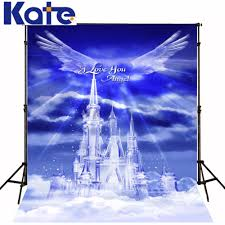 wedding backdrop chagne aliexpress buy kate custom background magic sky angel wings