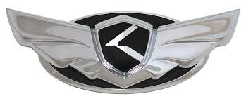 kia logo wing badges loden emblems