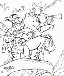 pooh coloring free winnie pooh coloring pages