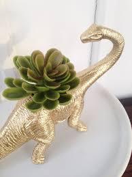 designer style dinosaur planter craft the homespun hydrangea