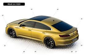 volkswagen arteon 2017 black by design volkswagen arteon automobile magazine