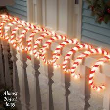 outdoor candy canes christmas current 1991 now ebay