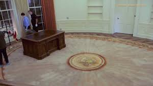 time lapse oval office set up youtube