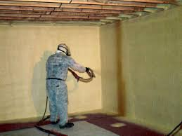 basement insulation spray foam insulate