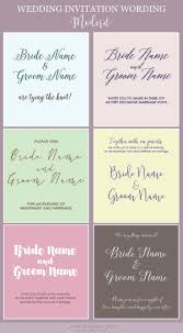 best 20 modern wedding invitation wording ideas on pinterest