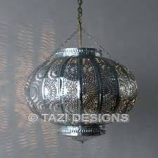 Tin Ceiling Lights Punched Tin Ceiling Light And Moroccan Pendant Fixture Pierced