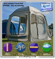 Motorhome Free Standing Awning New 2015 Kampa Pod Xpress Pop Up Free Standing Drive Away Camper