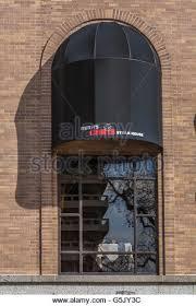 Awnings St Louis Mo Black Awning Over Brick Arch Stock Photos U0026 Black Awning Over
