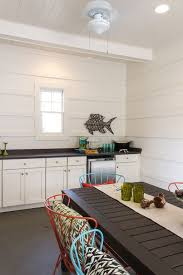 Ikea Ceiling Fans Cottage Dining Room With Concrete Floors By Signature Homes