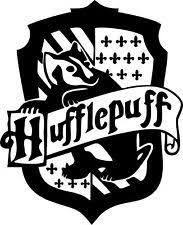 hogwarts alumni decal hufflepuff insignia harry potter vinyl decal sticker ebay
