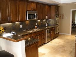 slate backsplash in kitchen homes design inspiration