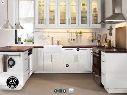 White Ikea Kitchen Cabinets White Ikea Kitchen Cabinets Rustic Pendant Lamps Renovation Ideas