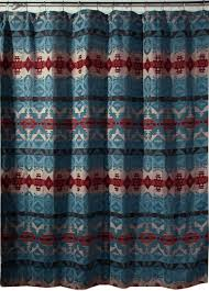 Southwest Shower Curtains Southwest Fabric Shower Curtains Shower Curtain Design