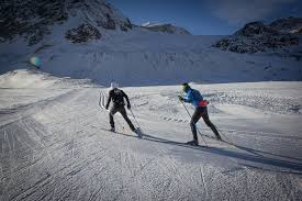 cross country ski center at pitztal glacier pitztal